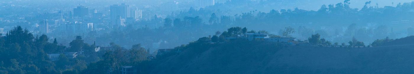 hillside homes in Los Angeles